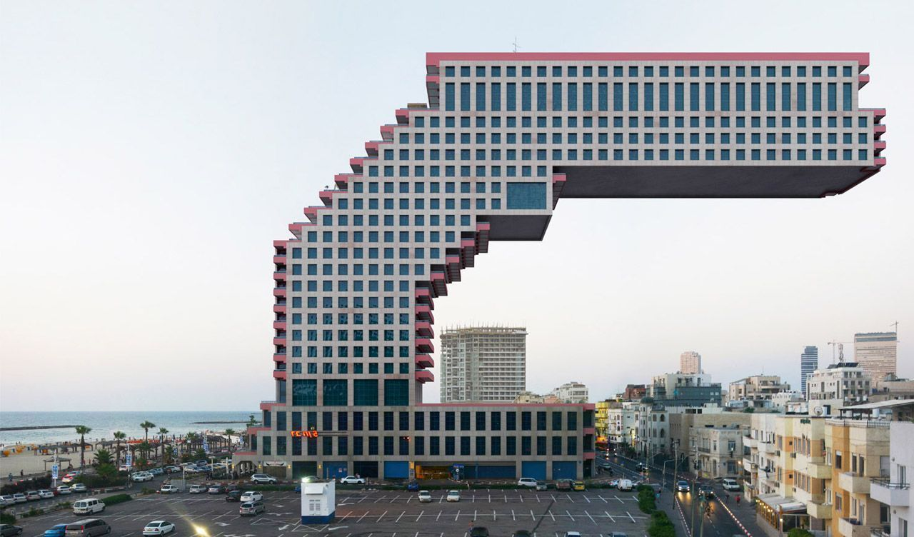 Surreal Architecture By Victor Enrich Eggwhite